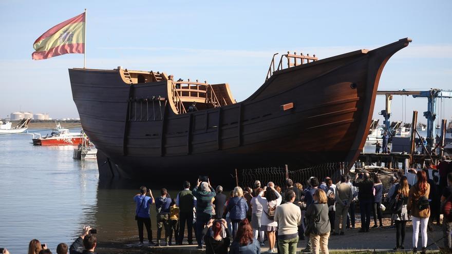 Del Pozo anuncia que la réplica de la Nao Victoria se podrá visitar desde marzo en el Guadalquivir en Sevilla