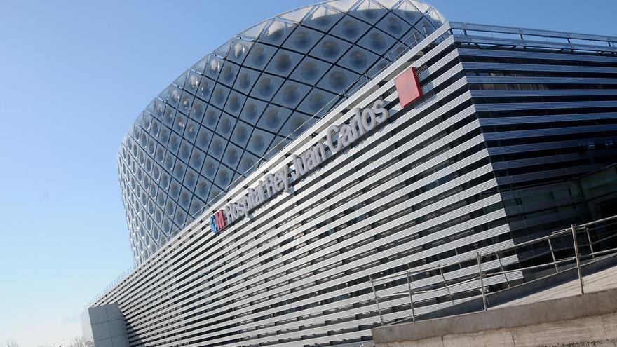 Edificio del hospital Rey Juan Carlos.
