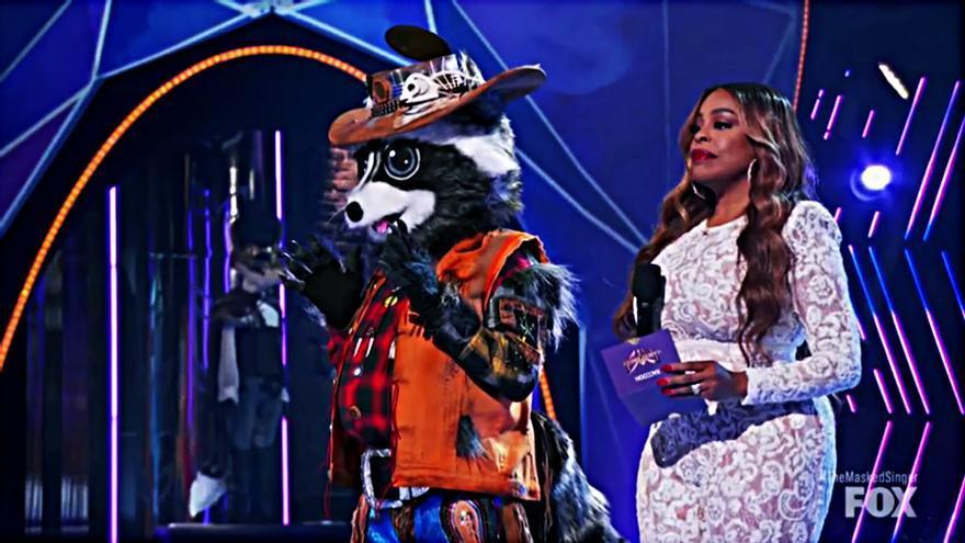 El Mapache en 'Mask Singer'