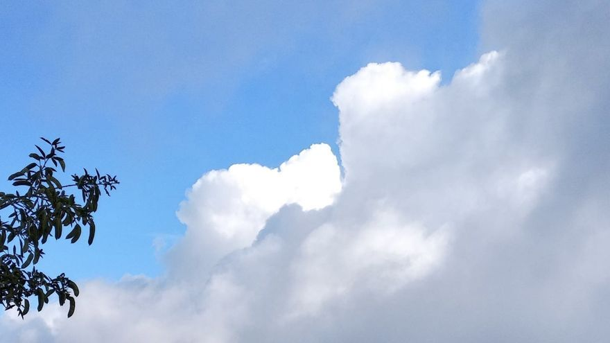 Nubes desde Mazo.