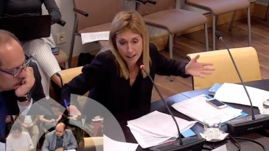 La concejala de Ciudadanos Silvia Saavedra