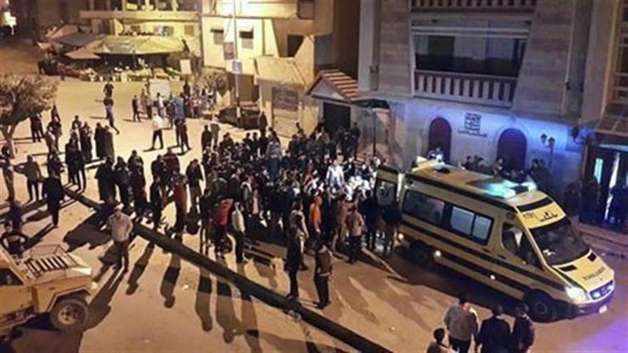 """Mueren seis soldados por un ataque """"terrorista"""" en el norte del Sinaí egipcio"""