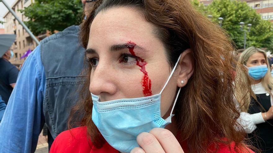 Echenique insiste en poner en duda la agresión a una diputada de Vox en la campaña vasca