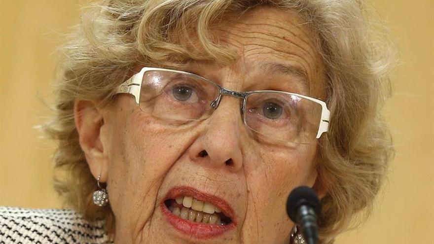 Carmena remarca que el fiscal no aprecia delito contra ella