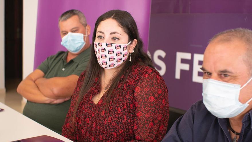 Laura Fuentes constituye el nuevo Consejo Autonómico de Podemos Canarias con César Merino como secretario de Organización