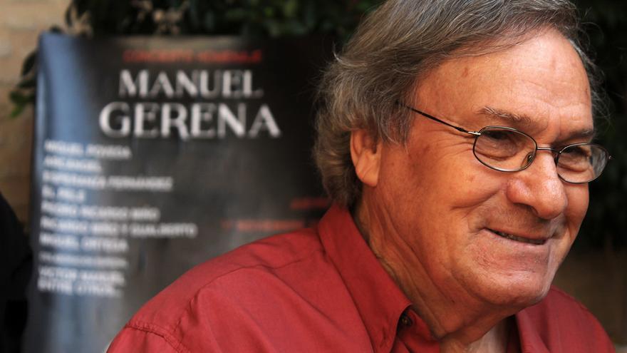 El cantaor Manuel Gerena. / JUAN MIGUEL BAQUERO