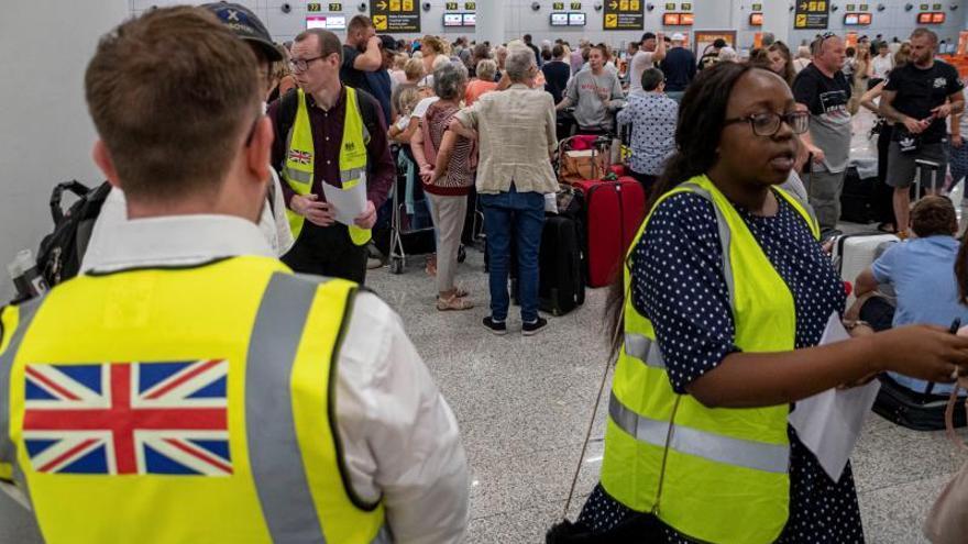 2.100 plazas canceladas en los vuelos de Thomas Cook este lunes en Baleares