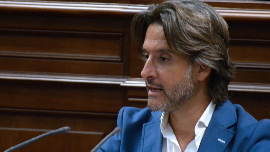 El diputado socialista Gustavo Matos, en la Cámara regional