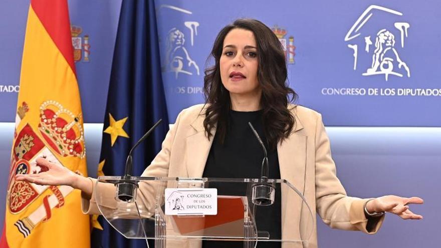 Arrimadas ve interpretable el fallo de Junqueras y pide al PSOE no pactar con él
