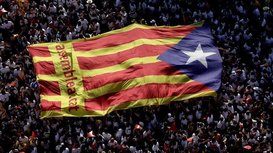 Cataluña vive una Diada marcada por la campaña y la marcha independentista