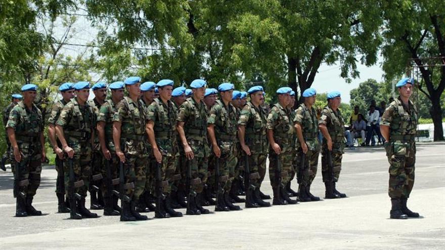 Chile retirará sus tropas de Haití en abril de 2017 después de 13 años