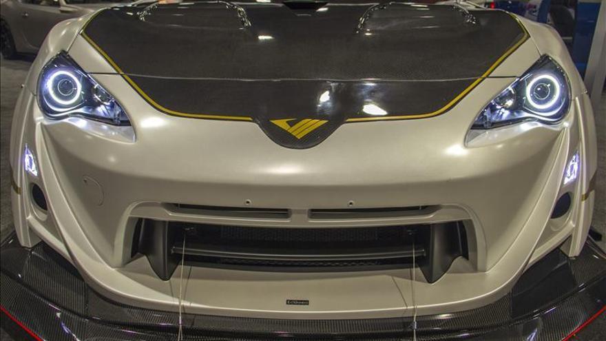El sector del automóvil exhibe su lado más extravagante en SEMA de Las Vegas