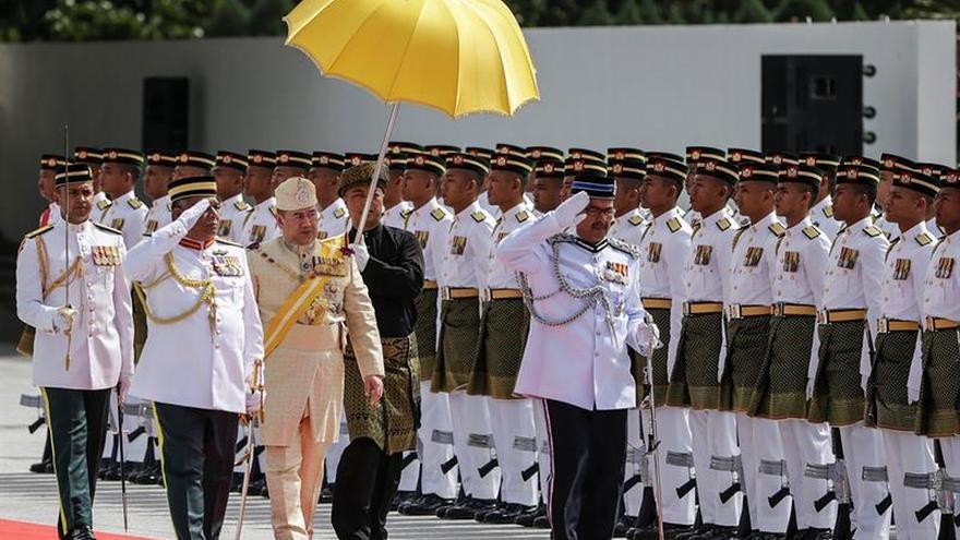 Muhammad V, sultán de Kelantan, coronado rey de Malasia entre 2016 y 2021