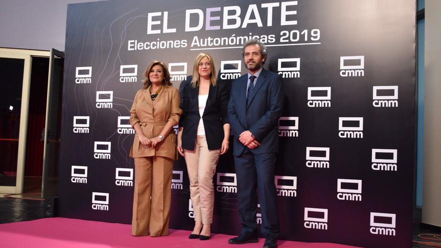 Carmen Picazo llega al debate de CMMedia
