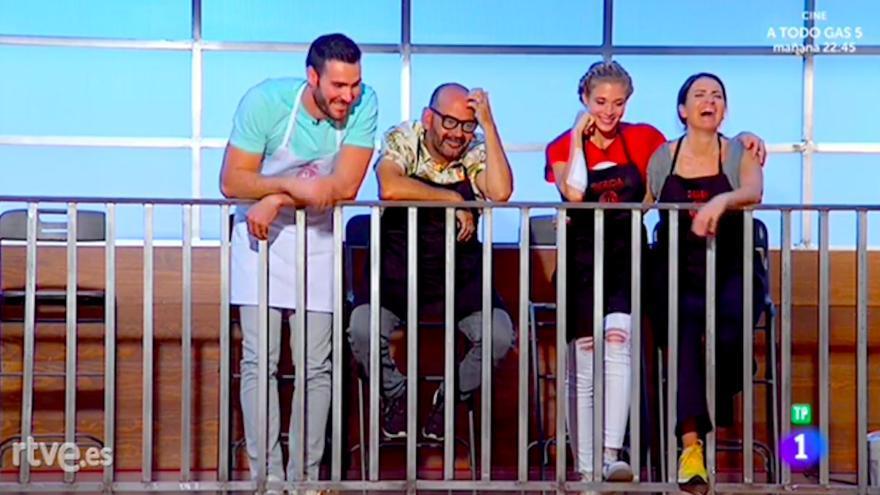 Silvia Abril, Patricia Montero, José Corbacho y Saúl Craviotto, finalistas de Masterchef Celebrity en TVE