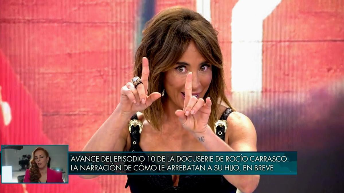 María Patiño, en 'Sábado Deluxe'