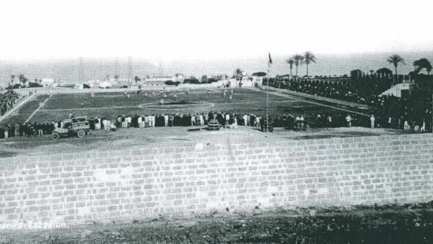 Vista del Stadium en la década de los 20 del siglo pasado.