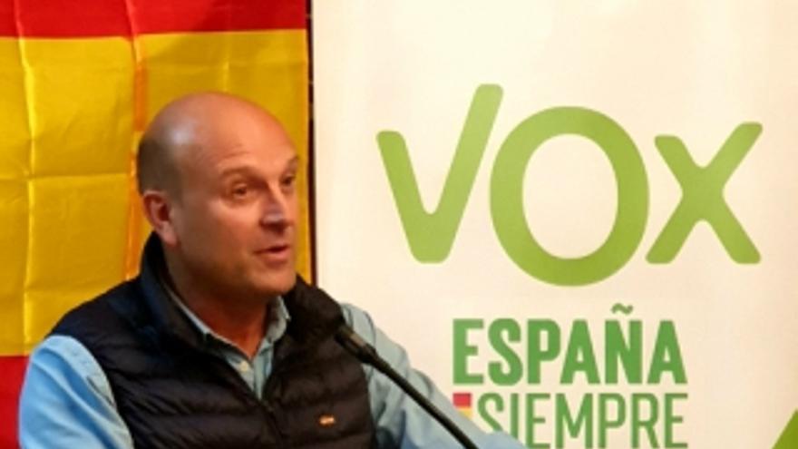 Pablo Ciprés, candidato de VOX al Congreso de los Diputados por Huesca