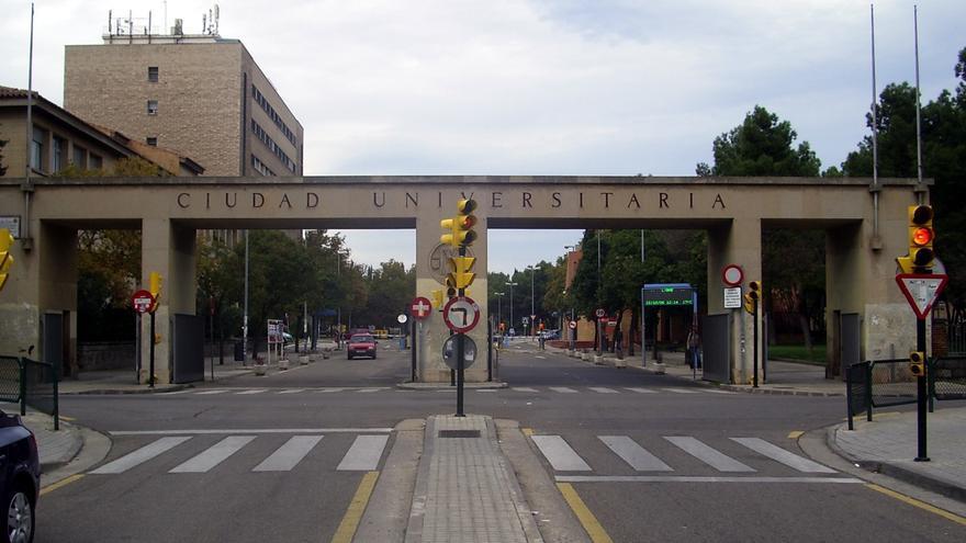 Campus principal de la Universidad de Zaragoza.