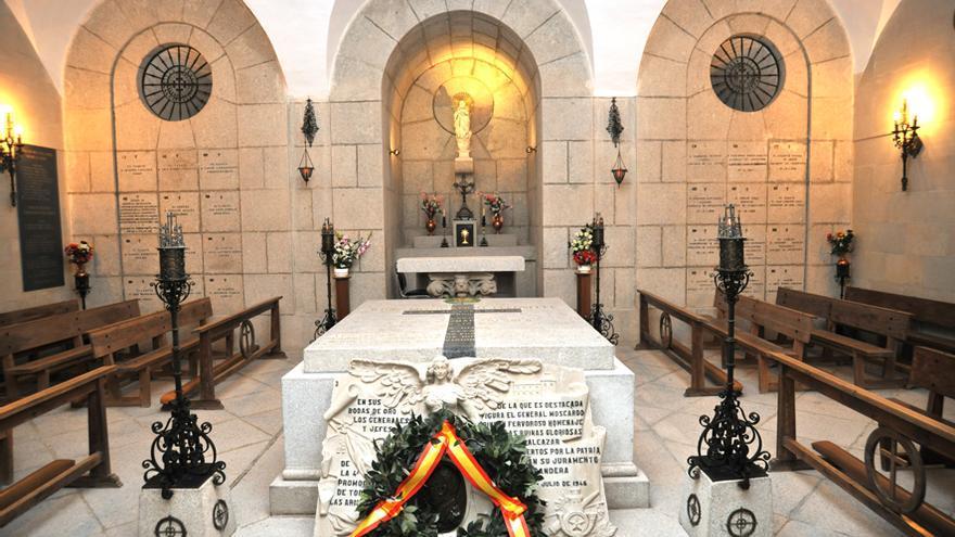Cripta en el Alcázar de Toledo