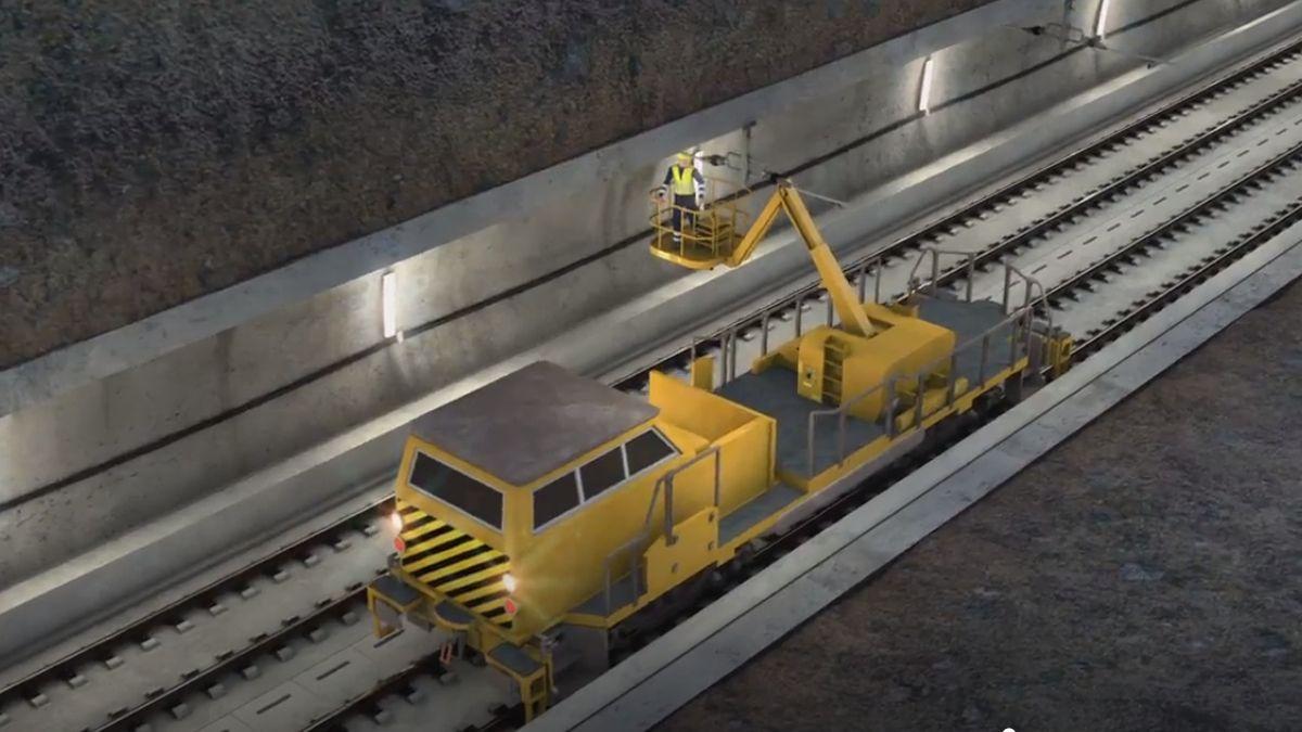 Infografía de las obras en el túnel de Recoletos | ADIF