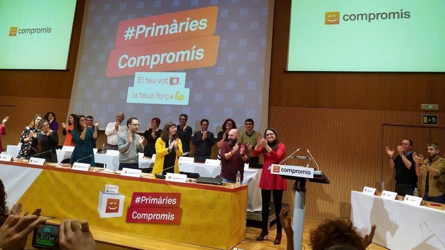 """Oltra anuncia su candidatura a la presidencia de la Generalitat en las primarias de Compromís: """"Sería un orgullo"""""""