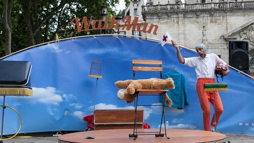 El barrio bilbaíno de Zorrotza acoge desde el jueves su sexta muestra de Clown