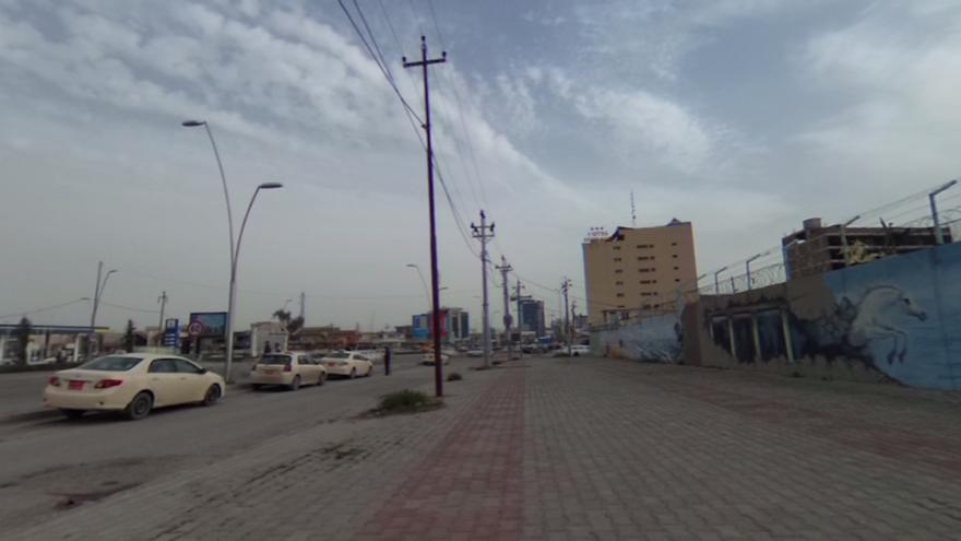 Exterior de la cárcel de mujeres de Erbil