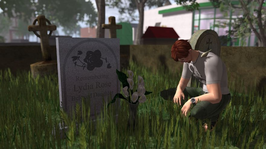 Second Life Grave