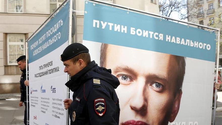 La autoridad electoral rechaza registrar a Navalni como candidato presidencial