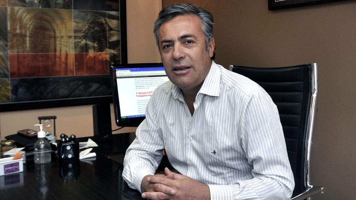 Alfredo Cornejo, presidente de la UCR.