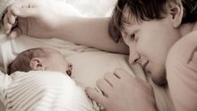 ¿Puede un padre tener depresión postparto?