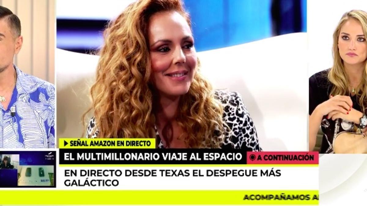 Miguel Ángel Nicolás y Alba Carrillo en 'Ya es mediodía'