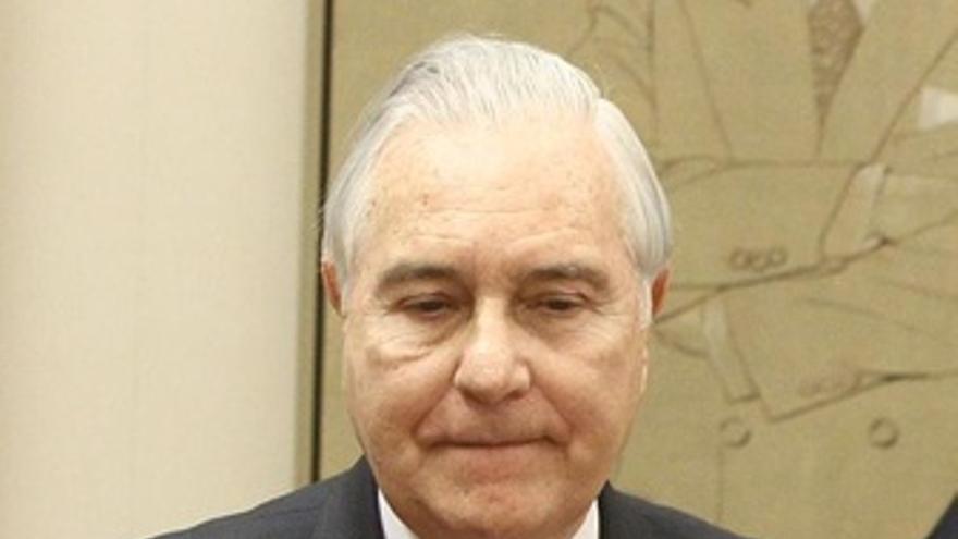 Carlos Dívar. (EUROPA PRESS)