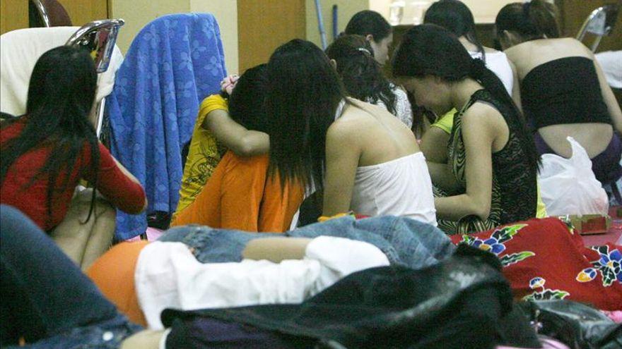 Menores víctimas de la trata