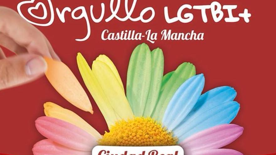 Cartel del Orgullo LGTBI de Castilla-La Mancha
