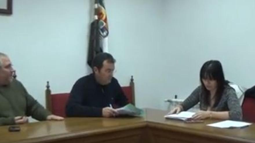 Pleno municipal Casas Monte