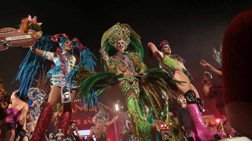 Gala Drag del Carnaval de Maspalomas. FOTO: Carnaval de San Bartolomé de Tirajana