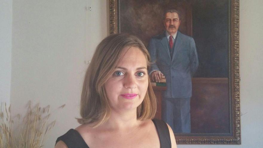 Nayra Hernández Quintana, concejala de Turismo del Ayuntamiento de Tijarafe.
