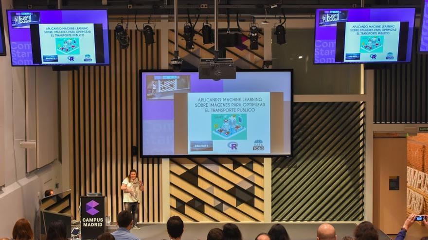 Inés Huertas es una experta en 'big data' y 'machine learning' que quiere aumentar la visibilidad de las mujeres en tecnología
