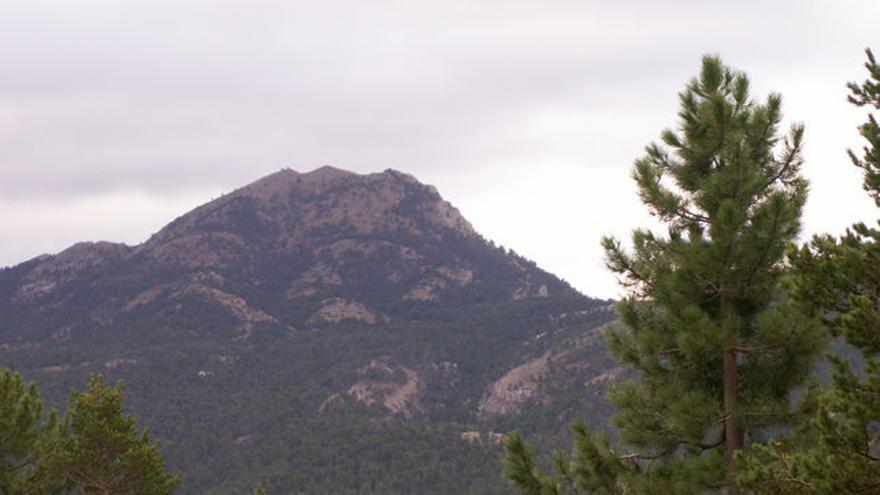 La montaña del Penyagolosa.