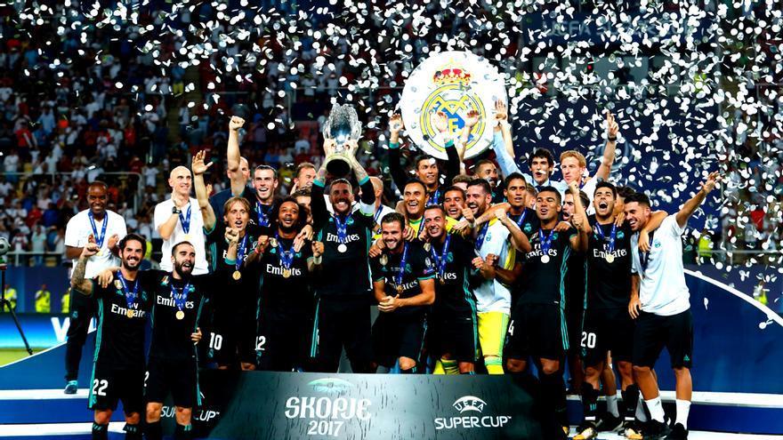 Real Madrid Supercampeón de Europa