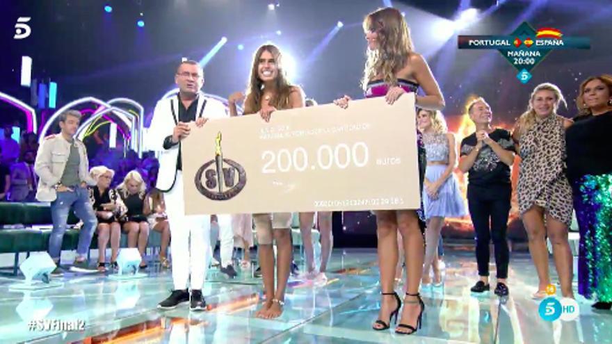 Sofía Suescun gana Supervivientes 2018, su segundo reality en Telecinco