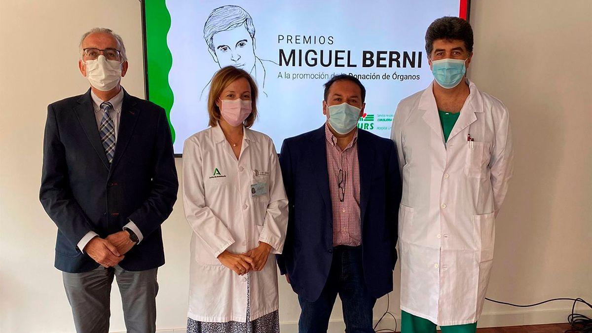 Presentación de los Premios Miguel Berni a la promoción de la donación de órganos.