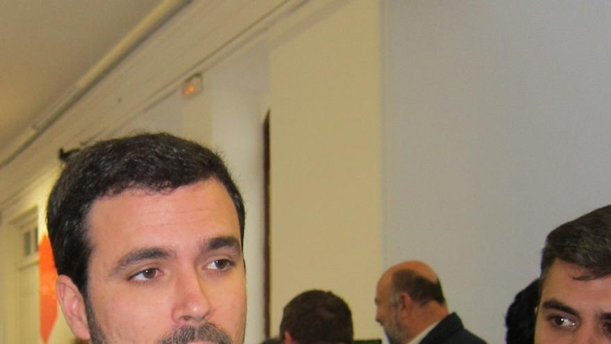 """Garzón saluda cualquier debate interno en IU pero no comparte una visión """"de confrontación"""""""