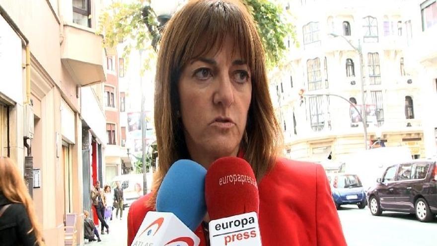 """Mendia, dispuesta a incluir """"nación"""" en el Estatuto vasco si sirve para que el nacionalismo quiera seguir en España"""