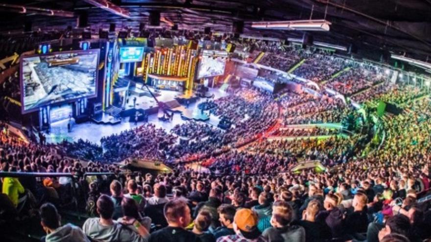 Imagen de archivo de una competición de eSports