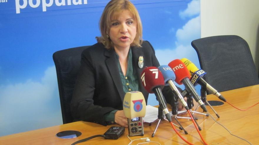La secretaria ejecutiva de política social del PP regional de Murcia, Violante Tomás