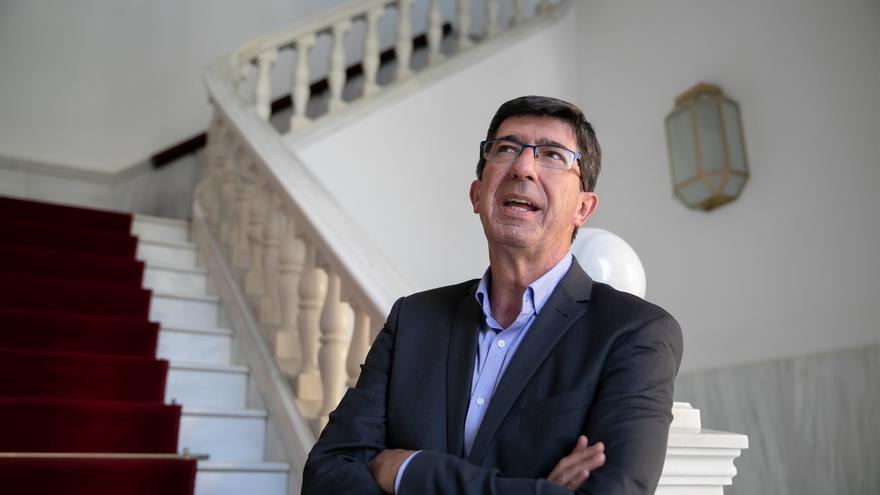 Marín critica que la Junta no tenga ninguna información del Gobierno sobre la llegada del 'Audaz' a Algeciras (Cádiz)