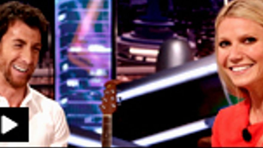 """Gwyneth Paltrow cantó el """"Borriquito como tú"""" y jugó al """"Gwynethpaltrowizador"""" con Pablo Motos"""